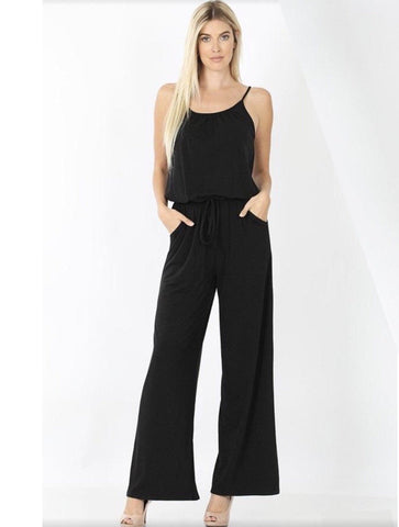 Women's Tank Top Black Jumpsuit: Plus Jumpsuit MomMe and More