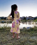 Mommy and Me Yellow Maxi Dress: Girls 4/5/6/7 dress MomMe and More