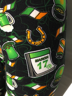 Women's St. Patrick's Day Luck of The Irish Leggings