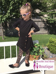 Girls Cheetah Leopard Leggings Leggings MomMe and More