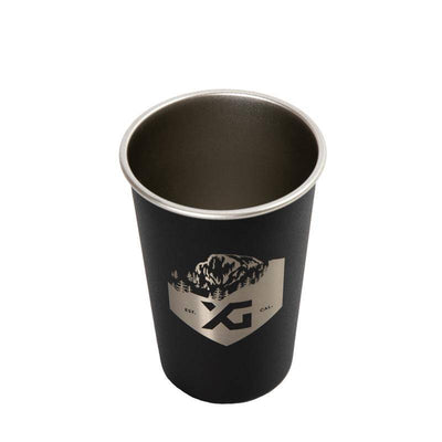 Steel Pint Glass 16 oz