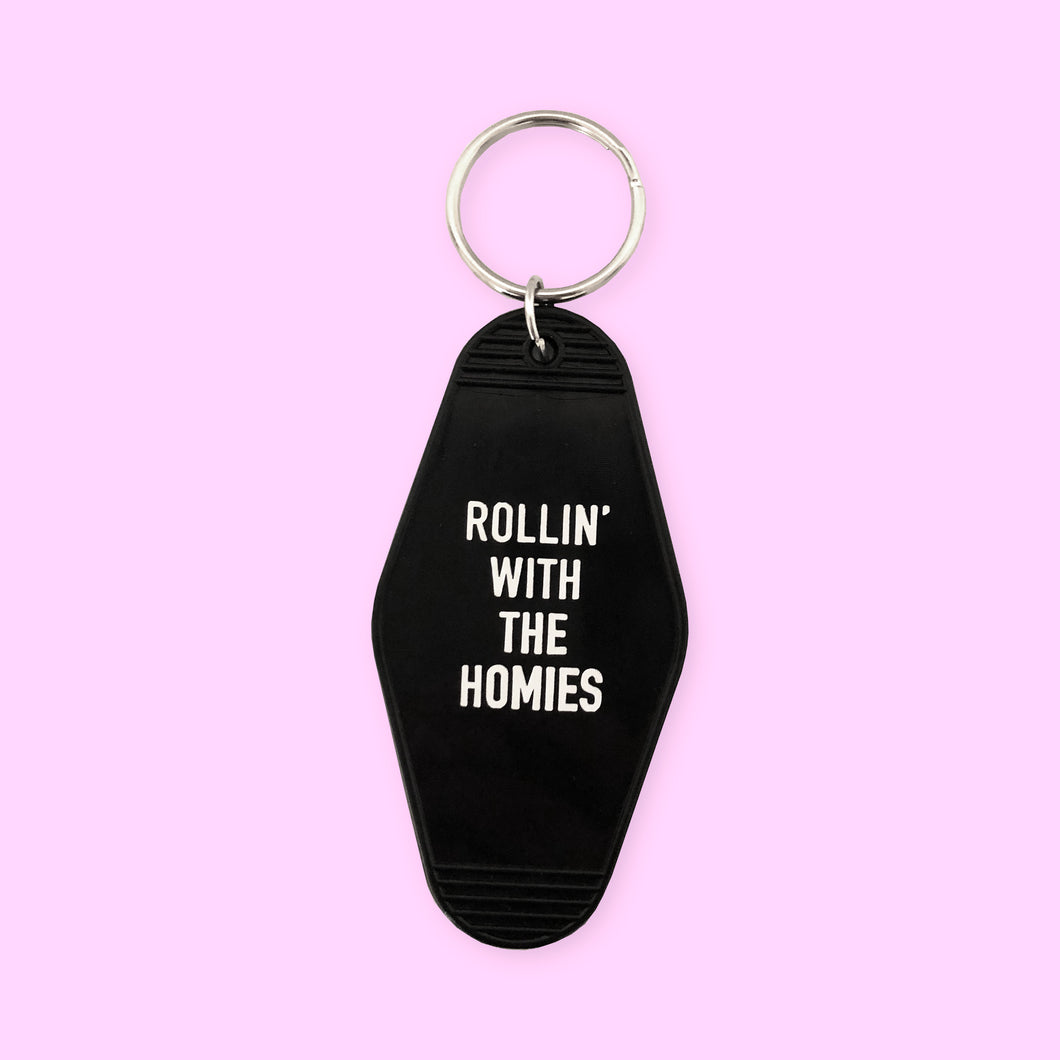 Rollin With The Homies Keychain