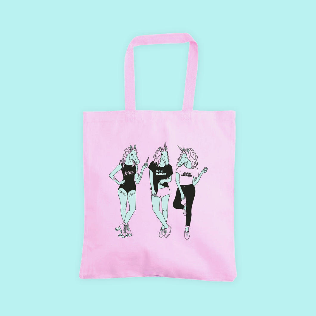 Unicorn Girl Gang Tote Bag