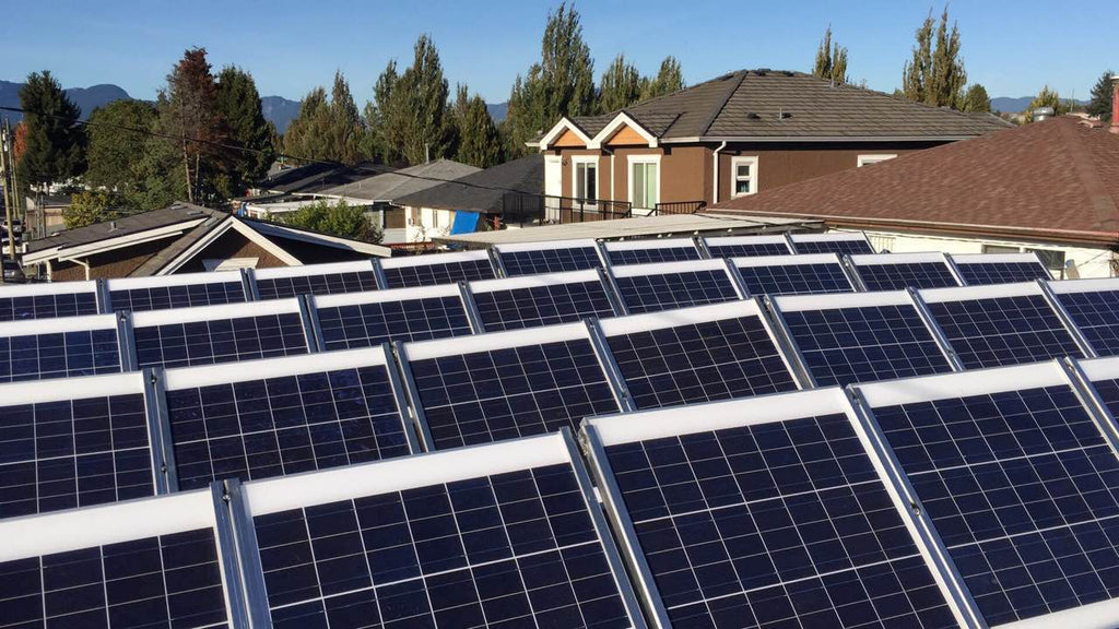 Solar Panel Project by Home Idol Real Estate Development
