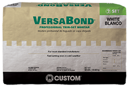VERSABOND THIN-SET WHITE 50LB $19.5/BAG - Home Idol Home Improvement Outlet