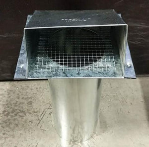 "050800 FRESH AIR INTAKE GALVANIZED 4"" $14.50 - Home Idol Home Improvement Outlet"