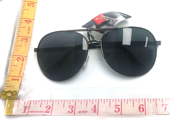822 FRAMED SUNGLASSES BLACK $2.75