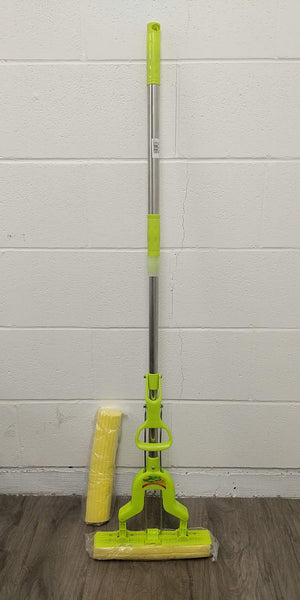 "848 EXTENDABLE SELF-SQUEEZE SQUSPONGE MOP WITH EXTRA SPONGE 47"" $6 - Home Idol Vancouver"