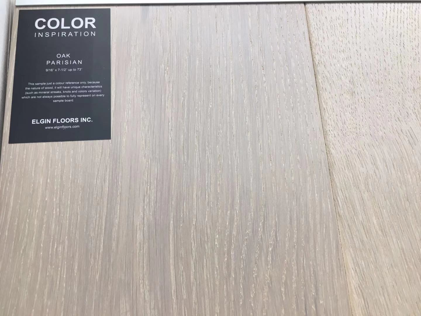 "SPX ORDER 1-2DAYS ENGINEERED HARDWOOD 7-1/2"" WIDTH 2MM TOP LAYER  OAK PARISIAN $4.26/SF 23.33SF/BOX $99.49/BOX - Home Idol Home Improvement Outlet"