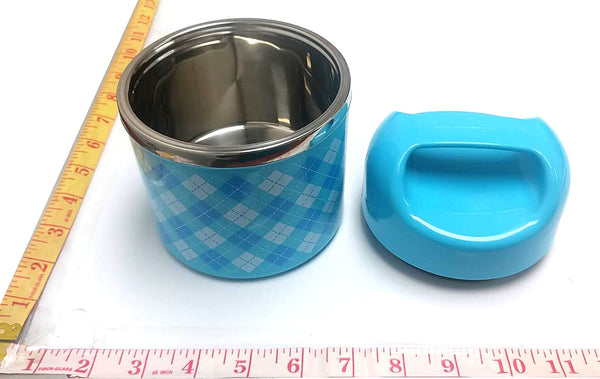 SINGLE LEVEL KEEPING WARM POT WITH LID $2.75