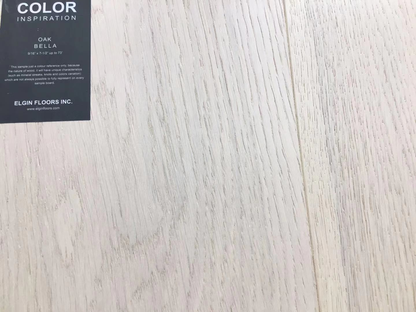 "SPX ORDER 1-2DAYS ENGINEERED HARDWOOD 7-1/2"" WIDTH 2MM TOP LAYER  OAK BELLA 23.33SF/BOX $4.26/SF $99.49/BOX# - Home Idol Home Improvement Outlet"