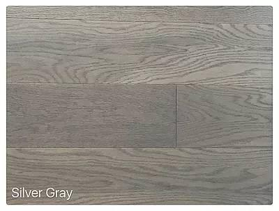 "SPX ORDER 1-2DAYS ENGINEERED HARDWOOD OAK SILVER GRAY 6"" 23.7SF/BOX $4.79/SF $113.52/BOX - Home Idol Vancouver"