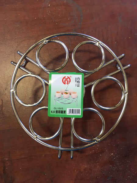 GL 16X5 4.0 STEAMING RACK EGG AND ALL-PURPOSE STAINLESS STEEL $2.75 *