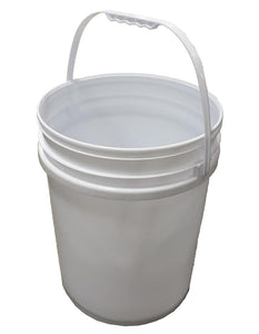 MULTI-PURPOSE 5 GALLON/20L BUCKET WHITE $3.99 - Home Idol Home Improvement Outlet