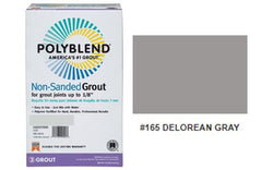 #165 DELOREAN GRAY NON SANDED GROUT 10LB $15.50/BAG - Home Idol Vancouver