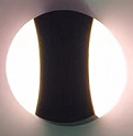 KM-2357 BLACK/WHITE BODY ROUND 160X160X40MM LED OUTDOOR LIGHT $29.99* - Home Idol Home Improvement Outlet