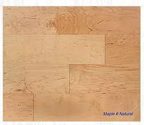 "SPX ORDER 1-2DAYS ENGINEERED HARDWOOD MAPLE NATURAL 5"" 26.25SF/BOX $3.79/SF $99.49/BOX - Home Idol Home Improvement Outlet"