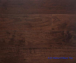 "SPX ORDER 1-2DAYS ENGINEERED HARDWOOD AMERICAN WALNUT BLACK TEA 5"" 26.25SF/BOX $4.79/SF $125.74/BOX - Home Idol Vancouver"