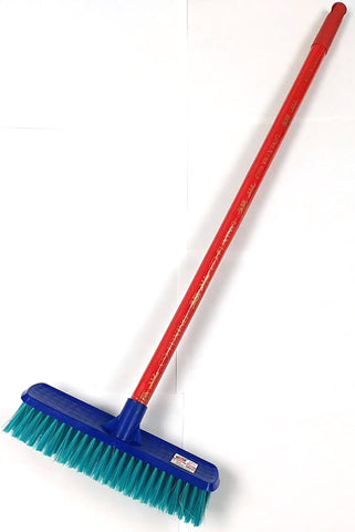 "SJ-616 BRUSH BROOM WITH WOOD HANDLE SIJIA 30"" $2.75 - Home Idol Home Improvement Outlet"