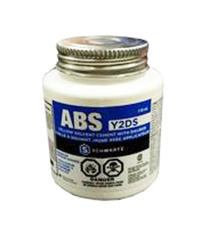ABS CSA YELLOW SOLVENT CEMENT WITH DAUBER (Y2DS) 118ML $2.99 - Home Idol Vancouver