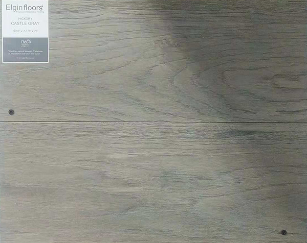"SPX ORDER 1-2DAYS ENGINEERED HARDWOOD HICKORY CASTLE GRAY 31.1SF/BOX 7.5""X73"" $5.02/SF $156.1/BOX - Home Idol Vancouver"