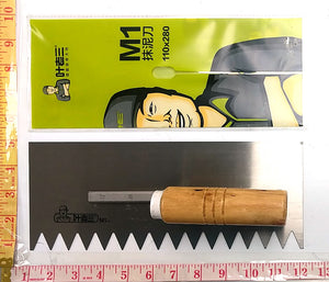 "M1 TILE TROWEL V NOTCH 1/2"" $2.75 - Home Idol Home Improvement Outlet"
