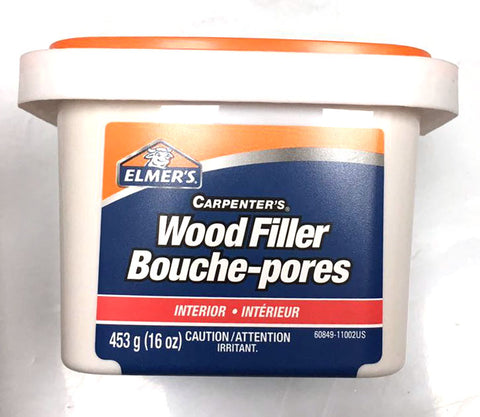 89074 ELMERS LATEX WOOD FILLER BOUCHE-PORES $10.50 #