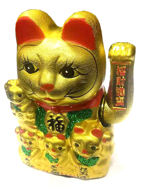 GOLD LUCKY CAT (ANY SIZE) $8.88