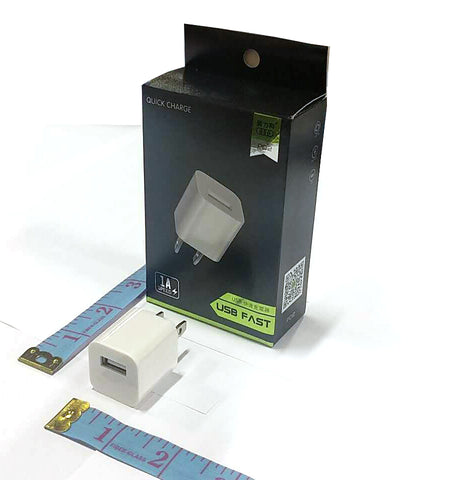 PO2 QUICK CHARGE USB CHARGER HEAD 1A $3.99