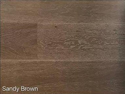"SPX ORDER 1-2DAYS ENGINEERED HARDWOOD OAK SANDY BROWN 30.27SF/BOX 7.5""X74"" $4.9/SF $148.39/BOX - Home Idol Vancouver"