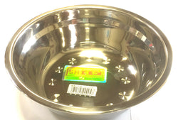 "08A SMALL SHUNHE ROUND BOWL STAINLESS STEEL 20CM=8"" $2.75 - Home Idol Vancouver"