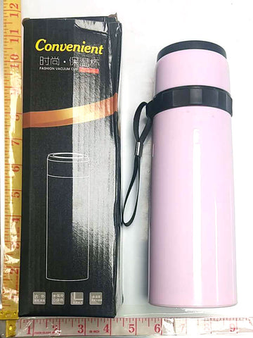 827 CONVENIENT FASHION VACUUM CUP WATER, BOTTLE $2.75 * - Home Idol Home Improvement Outlet