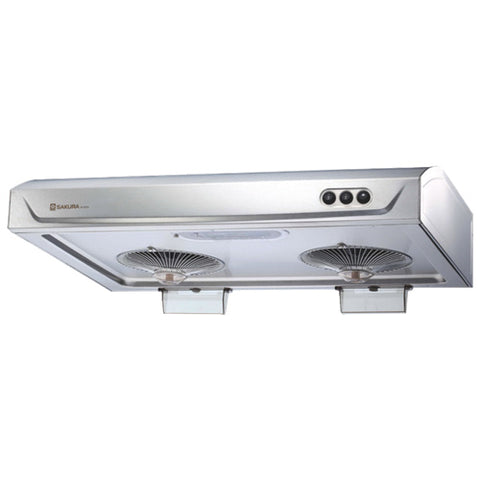"SAKURA RANGE HOOD R727II 30HS 2ND GEN 30"" STAIN 580CFM EXHAUST SIZE 6"" $335.99 - Home Idol Home Improvement Outlet"