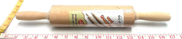 NATURAL WOOD ROLLING PIN $3.99