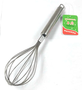 F064 EGG BEATER STAINLESS STEEL $1.25 - Home Idol Home Improvement Outlet