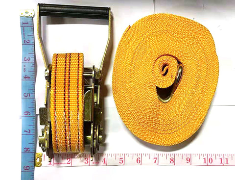 HEAVY DUTY TIE DOWN LOCK+ROPE COMBO YELLOW (10M=33FT LONG) $9.5 - Home Idol Home Improvement Outlet