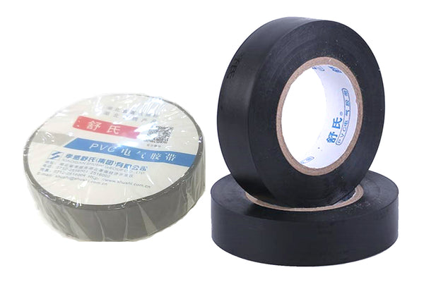 "PVC ELECTRICAL TAPE BLACK SHU SHI 0.6""X600� $0.5/PC - Home Idol Vancouver"