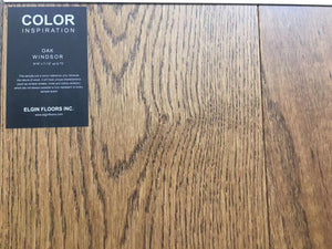"SPX ORDER 1-2DAYS ENGINEERED HARDWOOD 7-1/2"" WIDTH 2MM TOP LAYER OAK WINDSOR $4.26/SF 23.33SF/BOX $99.49/BOX - Home Idol Home Improvement Outlet"