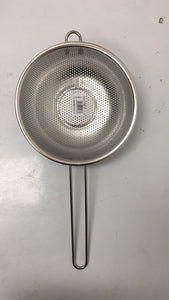 19.5 SINGLE HAND STRAINER STAINLESS STEEL SPOON $2.75 ### - Home Idol Home Improvement Outlet