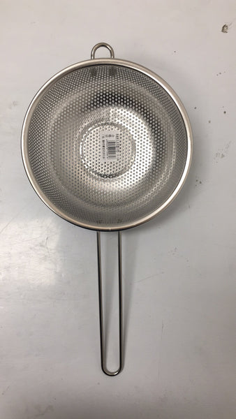 19.5 SINGLE HAND STRAINER STAINLESS STEEL SPOON $2.75 ###