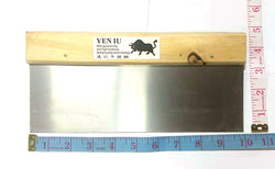 "RECTANGULAR SCRATCH CLEANING BLADE STAINLESS STEEL YEN IU 10""X4.5"" $2.75 - Home Idol Vancouver"