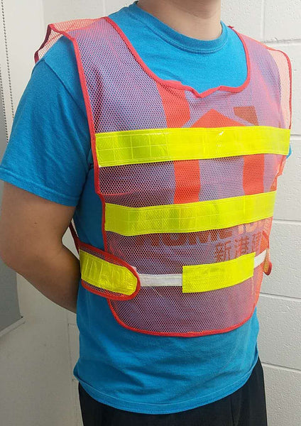 "SMALL CLASS 2 REFLECTIVE SAFETY VEST 16""X21� $2.75"