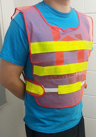 "SMALL CLASS 2 REFLECTIVE SAFETY VEST 16""X21� $2.75 - Home Idol Home Improvement Outlet"