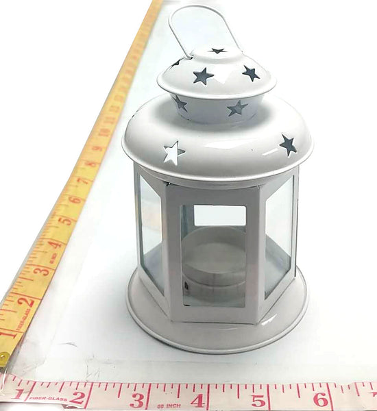 PORTABLE CANDLE LAMP WHITE $4.99