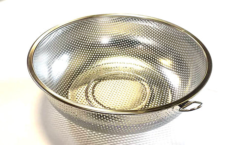 "ROUND STRAINER BASKET STAINLESS STEEL 25.5CM=10"" $2.75 - Home Idol Home Improvement Outlet"