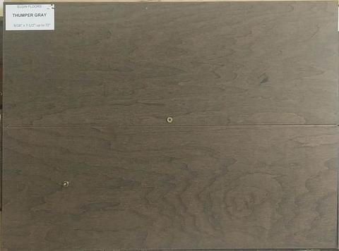 "SPX ORDER 1-2DAYS ENGINEERED HARDWOOD MAPLE THUMPER GRAY 26.49SF/BOX 7.5""X72"" $4.79/SF $126.89/BOX - Home Idol Vancouver"