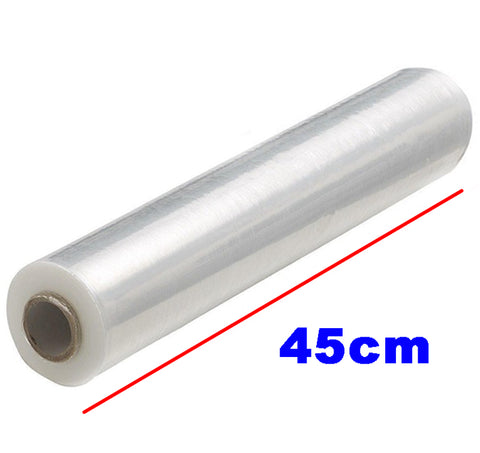 "LARGE SHRINK WRAP ROLL CLEAR 3KG 45CM/18"" $9.5 - Home Idol Home Improvement Outlet"