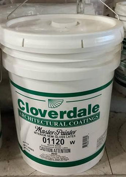 01120 INTERIOR SEMI GLOSS LATEXWHITE 5GALLON/18.2L MASTERPAINTER$119.99 - Home Idol Vancouver