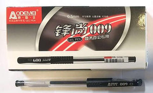 009 GEL PEN BLACK 0.5MM ODEMEI 10PC/PACK $2.75/10PC ($0.275=1PC) - Home Idol Home Improvement Outlet
