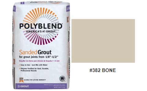 #382 BONE SANDED GROUT 25LB $15.99/BAG - Home Idol Home Improvement Outlet